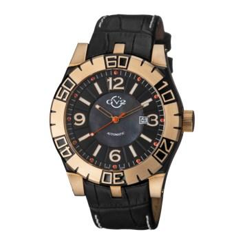 GV2 Gent's La Luna Ltd Edt Swiss Automatic Ruben & Sons Movement Watch with Genuine Leather Strap