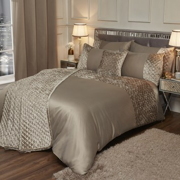 Glamour Velvet Sequin Duvet Set (King)