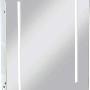 KnightsBridge LED Illuminated Bathroom Wall Mirror IP44 & Shaver Socket