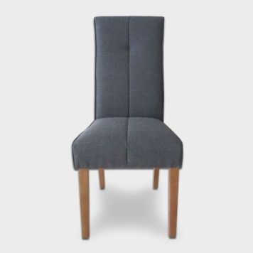 Milan Dining Chair Slate Blue
