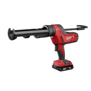 Milwaukee Power Tools C18 PCG/310C Caulking Gun 310ml 18V 1 x 2.0Ah Li-ion