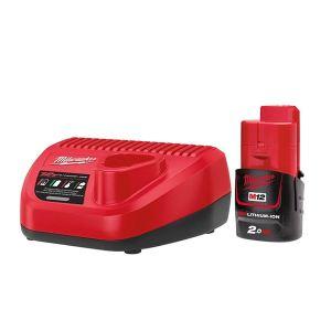 Milwaukee Power Tools M12 NRG-201 Energy Kit 12V 1 x 2.0Ah Li-ion