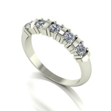Moissanite 9ct Gold 0.50ct eq Eternity Ring