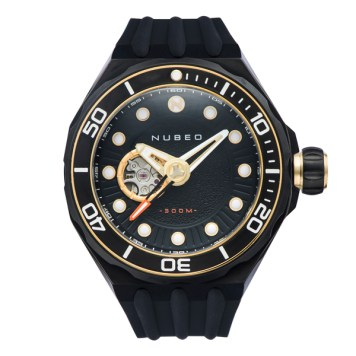 Nubeo Gent's Mariana Automatic Watch with Silicone Strap