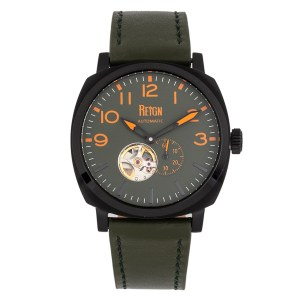 Reign Gent's Napoleon Automatic Watch with Genuine Leather Strap
