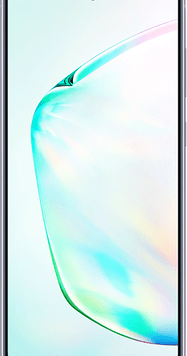 Samsung Galaxy Note10 (256GB Aura Glow) at £29.00 on Unlimited with Entertainment (24 Month(s) contract) with UNLIMITED mins; UNLIMITED texts; UNLIMITEDMB of 5G data. £77.00 a month.
