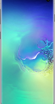 Samsung Galaxy S10 (128GB Prism Green Used Grade A) at £29.00 on Red with Entertainment (24 Month(s) contract) with UNLIMITED mins; UNLIMITED texts; 6000MB of 5G data. £53.00 a month.