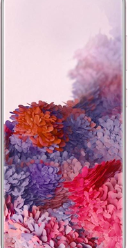 Samsung Galaxy S20 5G (128GB Pink Used Grade A) at £29.00 on Red with Entertainment (24 Month(s) contract) with UNLIMITED mins; UNLIMITED texts; 6000MB of 5G data. £57.00 a month.