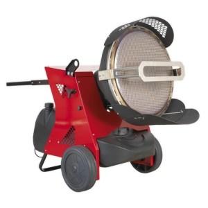 Sealey 45.5kW Infrared Paraffin & Diesel Space Heater