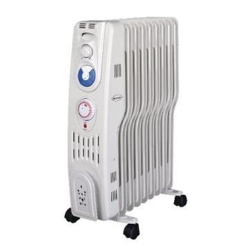 Silent Night 2kW S Type Oil Filled Radiator With Timer