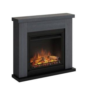 Tagu Frode Electric Fireplace - Ash Grey Complete Suite EU Plug