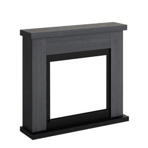 Tagu Frode Electric Fireplace - Ash Grey Mantel Only No Plug