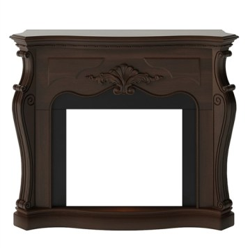 Tagu Gala Electric Fireplace - Royal Walnut Mantel Only No Plug
