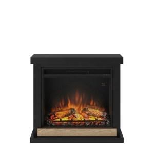 Tagu Hagen Electric Fireplace - Deep Black Complete Suite EU Plug