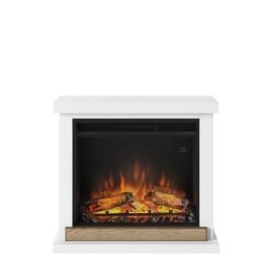 Tagu Hagen Electric Fireplace - Pure White Complete Suite EU Plug