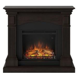 Tagu Magna Electric Fireplace - Espresso Wenge Complete Suite UK Plu