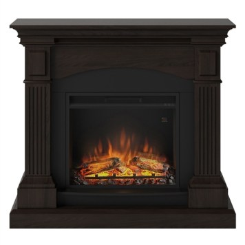 Tagu Magna Electric Fireplace - Espresso Wenge Complete Suite UK Plu