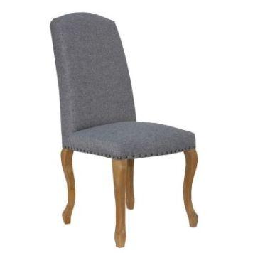 Verona Luxury Dining Chair Light Grey
