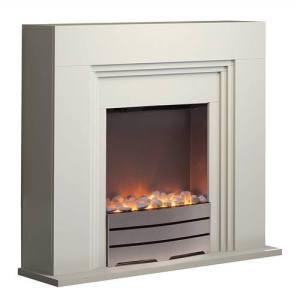 Warmlite York Fireplace Suite - Ivory