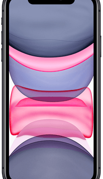 Apple iPhone 11 (64GB Black) at £49.00 on Red (24 Month(s) contract) with UNLIMITED mins; UNLIMITED texts; 24000MB of 5G data. £55.00 a month.