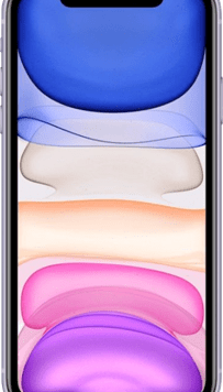 Apple iPhone 11 (64GB Purple) at £49.00 on Red (24 Month(s) contract) with UNLIMITED mins; UNLIMITED texts; 6000MB of 5G data. £50.00 a month.