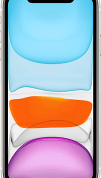 Apple iPhone 11 (64GB White) at £49.00 on Red with Entertainment (24 Month(s) contract) with UNLIMITED mins; UNLIMITED texts; 6000MB of 5G data. £57.00 a month.