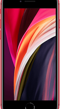 Apple iPhone SE (2020) (128GB (PRODUCT) RED Used Grade A) at £19.00 on Red (24 Month(s) contract) with UNLIMITED mins; UNLIMITED texts; 24000MB of 5G data. £39.00 a month.