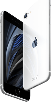 Apple iPhone SE (2020) (256GB White) at £29.00 on Unlimited Lite (24 Month(s) contract) with UNLIMITED mins; UNLIMITED texts; UNLIMITEDMB of 5G data. £50.00 a month.