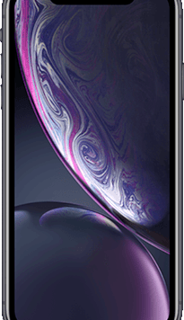 Apple iPhone XR (64GB Black Used Grade A) at £29.00 on Red (24 Month(s) contract) with UNLIMITED mins; UNLIMITED texts; 48000MB of 5G data. £56.00 a month.