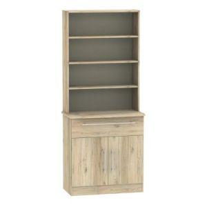 Colby Sideboard Brown 2 Door 4 Shelf 1 Drawer