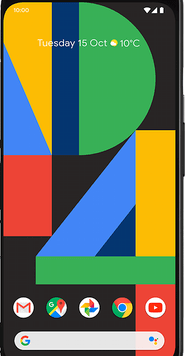 Google Pixel 4 (64GB Clearly White) at £29.00 on Red (24 Month(s) contract) with UNLIMITED mins; UNLIMITED texts; 24000MB of 5G data. £39.00 a month.