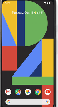 Google Pixel 4 XL (64GB Clearly White) at £19.00 on Red with Entertainment (24 Month(s) contract) with UNLIMITED mins; UNLIMITED texts; 48000MB of 5G data. £54.00 a month.