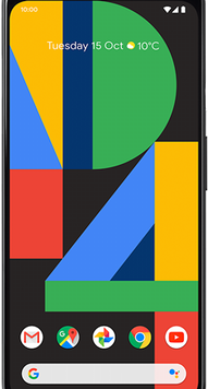 Google Pixel 4 XL (64GB Just Black) at £19.00 on Unlimited (24 Month(s) contract) with UNLIMITED mins; UNLIMITED texts; UNLIMITEDMB of 5G data. £54.00 a month.