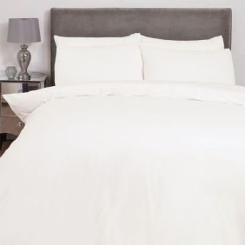 Hamilton McBride Double Duvet Cover Cream