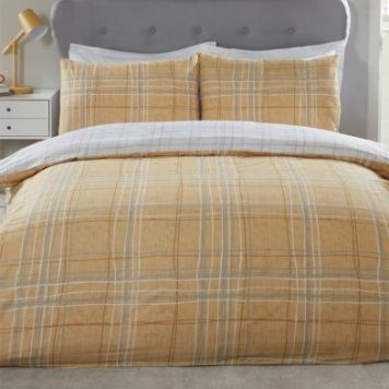 Hamilton McBride Harvard King Size Duvet Cover Yellow