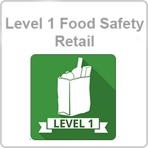 Level 1 Food Safety - Retail CPD Certified Online Course