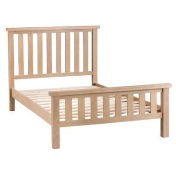 Monica Oak 4ft 6in Double Bed Frame