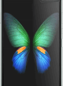 Samsung Galaxy Fold 5G (512GB Space Silver) at £529.00 on Red (24 Month(s) contract) with UNLIMITED mins; UNLIMITED texts; 24000MB of 5G data. £87.00 a month.