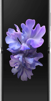 Samsung Galaxy Z Flip 5G (256GB Mystic Grey) at £129.00 on Red (24 Month(s) contract) with UNLIMITED mins; UNLIMITED texts; 6000MB of 5G data. £76.00 a month.