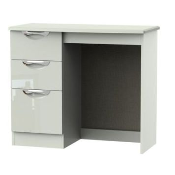 Weybourne Desk Cream 3 Drawer
