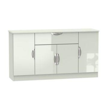 Weybourne Sideboard Cream 4 Door 1 Drawer