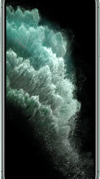 Apple iPhone 11 Pro Max (64GB Midnight Green) at £99.00 on Red (24 Month(s) contract) with UNLIMITED mins; UNLIMITED texts; 2000MB of 4G data. £58.00 a month.