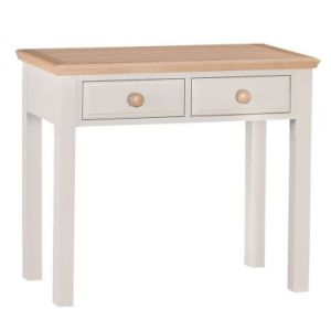 Country Cottage Oak 2 Drawer Dressing Table