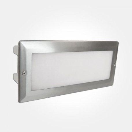 Eterna 5.4W LED Bricklight with Stainless Steel Frame