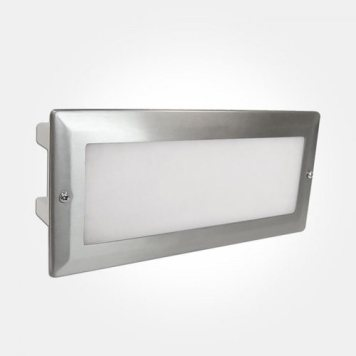 Eterna 5.4W LED Bricklight with Stainless Steel Frame
