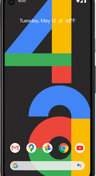 Google Pixel 4a (128GB Just Black) at £29.00 on Red (24 Month(s) contract) with UNLIMITED mins; UNLIMITED texts; 6000MB of 5G data. £34.00 a month.