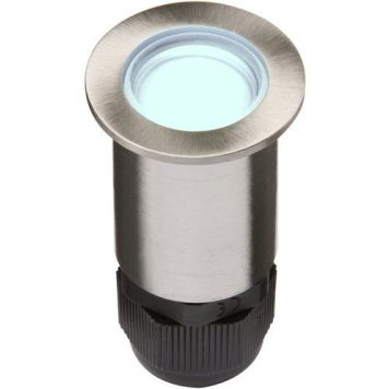 KnightsBridge 4 x 0.5W LED LV Stainless Steel Decking Light - Blue