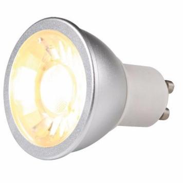 KnightsBridge 7W LED COB GU10 Dimmable Bulb - Warm White
