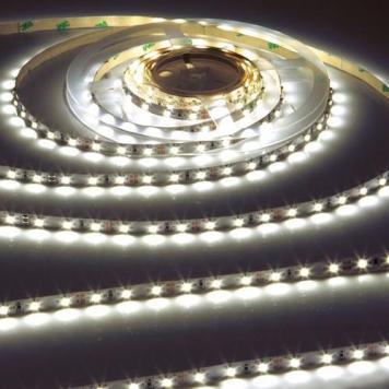 KnightsBridge Cool White 12V LED IP20 Flexible Indoor Internal Rope Lighting Strip - 2 Meter