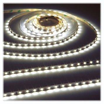 KnightsBridge Cool White 24V LED IP20 Flexible Indoor Rope Lighting Strip - 20 Meter
